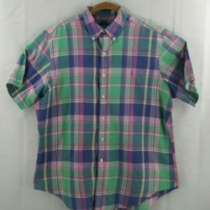 Ralph Lauren Mens XLPastel Plaid Checkered Classic